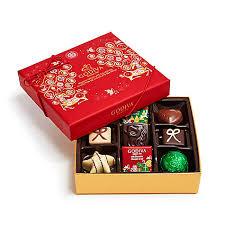 assorted gift boxes assorted chocolate seasonal gift box 9 pc godiva