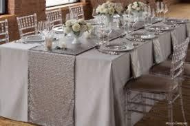 table runner new 119 silver table runner wedding