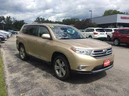 used 2013 toyota highlander limited suv in sandy beach for sale