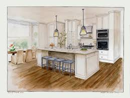 Kitchen Drawings How To Draw Two Point Perspective Interior Google Search