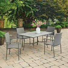 Concrete Patio Table Set by Home Decorators Collection Patio Dining Sets Patio Dining