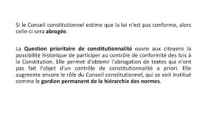si e du conseil constitutionnel introduction au droit français droit ppt télécharger