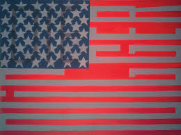 Blue And White Flag With Red C The Storyteller At 85 Her Star Still Rising Faith Ringgold