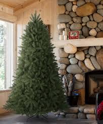 unlit artificial christmas trees 9 unlit noble fir artificial christmas tree realistic