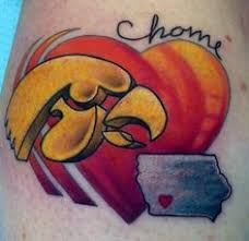 iowa hawkeye tattoo google search the iowa hawkeyes