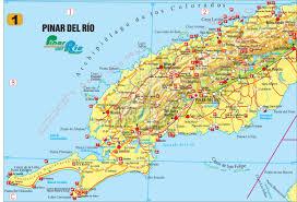 Cuban Map Pinar Del Rio U2013 Vivacuba Se Cuba Tourist Board Nordic U0026 Baltic