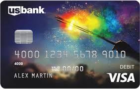 Wells Fargo Design Card U S Bank U0027s New Visa Debit Card Pride Design Photo U S Bank