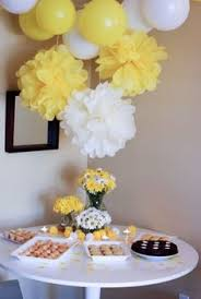 Baby Shower Decorations Yellow Bumble Bee Baby Shower W Free Printables Yellow Baby Showers
