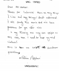 the cia u0027s last detainee hates lebron james and other letters from