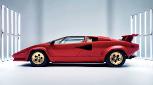 classic lamborghini countach why we love u201cugly u201d sports cars from the u002780s and u002790s now more
