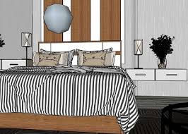 free 3d models bedroom master bedroom by taedsak kaewchay
