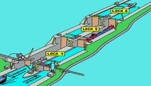 st seaway map seaway system the seaway our locks and channels