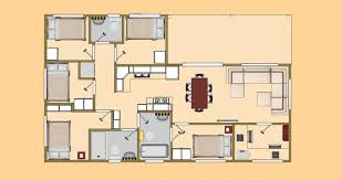 Big House Floor Plans by Big 3 Bedroom House Plans