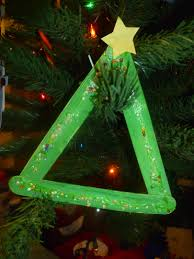 popsicle stick christmas tree u0027s http mamato3blessings blogspot