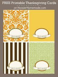 Thanksgiving Printable Free Free Thanksgiving Cards Hoosier