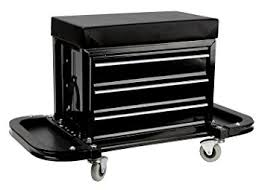 uline rolling tool cabinet amazon com uline rolling tool chest seat black color office products