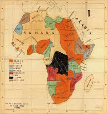 Maps Of Africa Missionary Maps Of Africa 1908