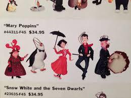 poppins storybook ornaments disney catalog pearly band