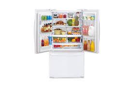 lg bottom freezer french door refrigerator lfx28968sw lg ultra capacity 3 door french door refrigerator with