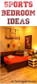 Creative Sports Bedroom Theme Ideas  At TheFrugalGirlscom - Kids sports room decor