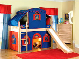 bunk beds diy bunk bed tent full size of with slide for twin