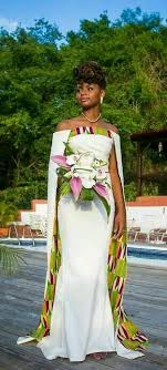 robe africaine mariage 31 best robes de mariée africaines images on