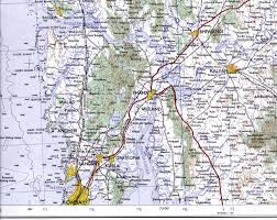 Mumbai India Map by