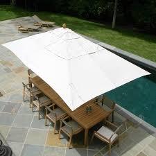 Pottery Barn Patio Umbrella by Incredible Rectangular Patio Umbrella Clearance Rectangular Market