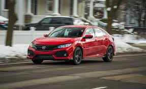 2017 honda civic in depth model review car and driver