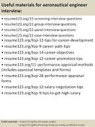 Objective In Resume Example by Top 8 Aeronautical Engineer Resume Samples