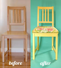 add padded seat to dining chairs without removable seat by adding