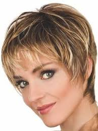 short wispy hairstyles for older women short face flattering bob with feathered layers and wispy ends