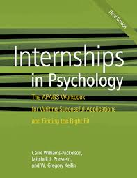 internships in psychology the apags workbook for writing