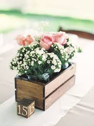 Pallet Wedding Decor 29 Chic Box Wedding Centerpieces That Inspire Weddingomania