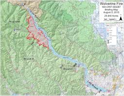 Washington Fire Map by Wolverine Fire Briefing Map 8 5 Wolverine Fire U2013 Chelan Washington