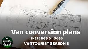 Conversion Van Floor Plans Van Conversion Floor Plans And Ideas Season 3 Of Vantourist Blog