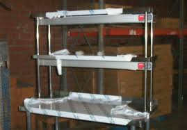 sandwich unit over shelf stainless steel over shelves commercial