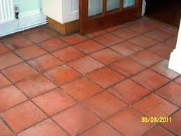 Terracotta Floor Tile Kitchen - porcelain terra cotta tile staining color matching terra cotta