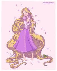 tangled princess rapunzel disney collection ariartna