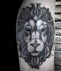 85 lion tattoos for men a jungle of big cat designs