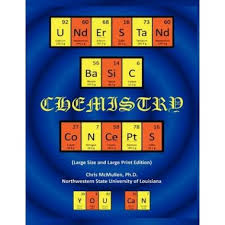 periodic table large size basic chemistry concepts large size large print edition the