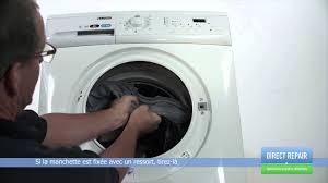 remplacer le joint de hublot ou la manchette du lave linge
