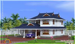 204 square meter kerala model house design kerala home design