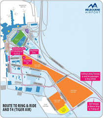 Chicago Airport Terminal Map by Melbourne Airport Terminal 4 Map Melbourne Airport T4 Map