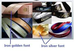 personalized satin ribbon logo diy satin ribbon weddind personalized packing and marriage