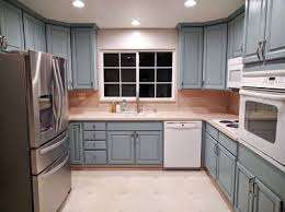 Blue Painted Kitchen Cabinets Persian Blue Milk Painted Kitchen Cabinets General Finishes