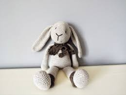 crochet bunny rabbit amigurumi big soft rabbit doll home decor