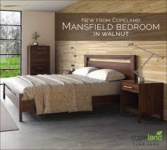 walnut bedroom furniture say hello to copeland s new modern walnut bedroom furniture