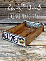 Coffee Table Uses by 13 Creative Uses For Your Old License Plates Coffee Table Tray