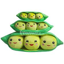 peas in a pod keychain green peas in a pod plush story stuffed doll 3 19